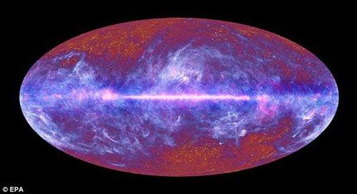 """超级望远镜""""窥探""""宇宙全貌 星系团震惊世人"""