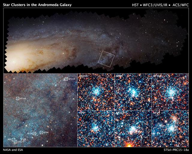 哈勃望远镜仙女座宝藏计划
