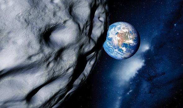 两颗巨型小行星飞速而来 将陆续经过地球附近