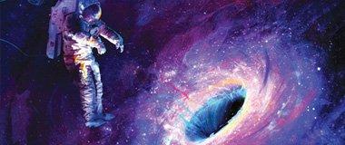 人掉进黑洞 会被拉扯成细小的原子