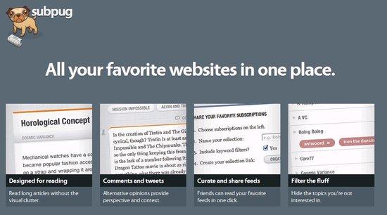 轻便RSS阅读器Subpug 谷歌阅读器之外新选择
