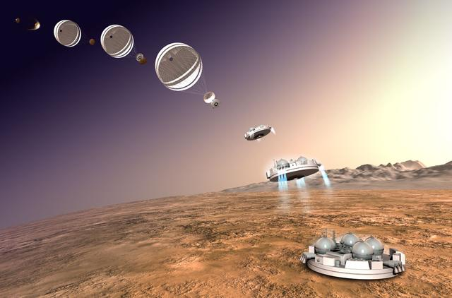 欧洲空间局火星车完成对接:预计三月发射