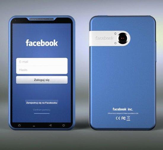 Facebook手机概念图曝光