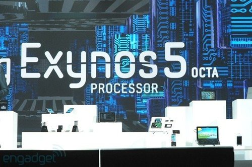 三星发布全球首款八核处理器Exynos 5 Octa