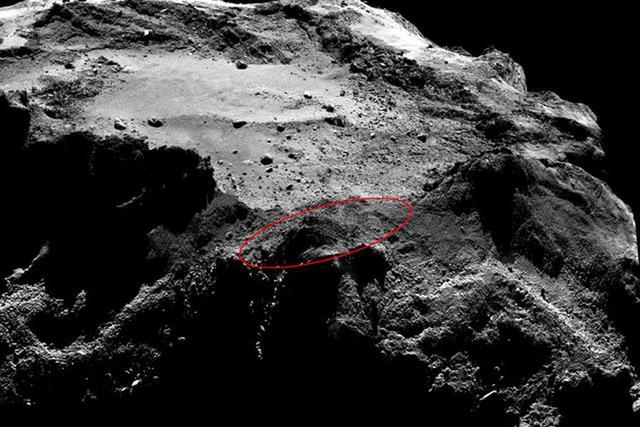 欧空局菲莱彗星探测器失联:或因温度太低