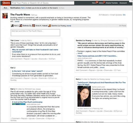 "Quora推出""Boards""功能:方便用户策展信息"