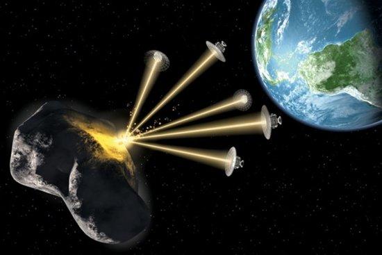 解读如何防小行星撞地球:核武器与动能撞击