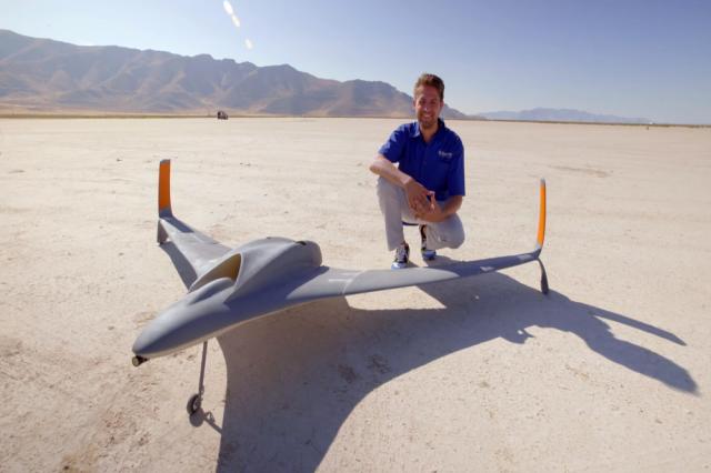 世界最大3D打印无人机试飞成功 时速破纪录
