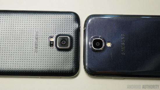 三星GALAXY S5对比S4:换手机意义不大