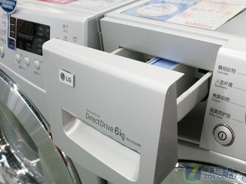 LG时尚滚筒现价3688元 DD电机保修10年