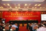 深圳市知识产权工作会议现场