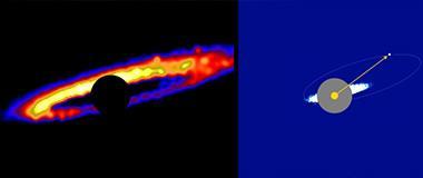 科学家最新观测到行星形成留下的残骸盘