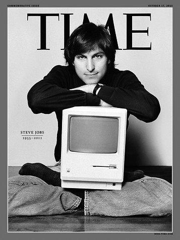 10月11日出版的《时代》,乔布斯再次登上封面
