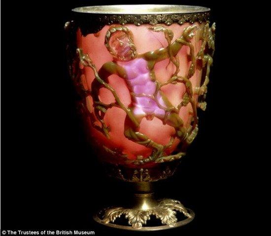 来自1600年前的变色杯,包含着现代的纳米技术?
