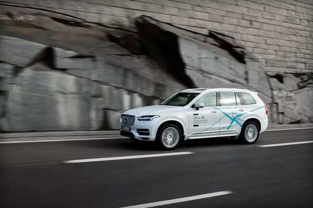 沃尔沃拟运送100辆无人驾驶汽车到中国试驾