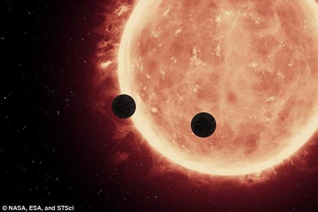 两颗系外行星具有类地大气层 可能潜在生命迹象