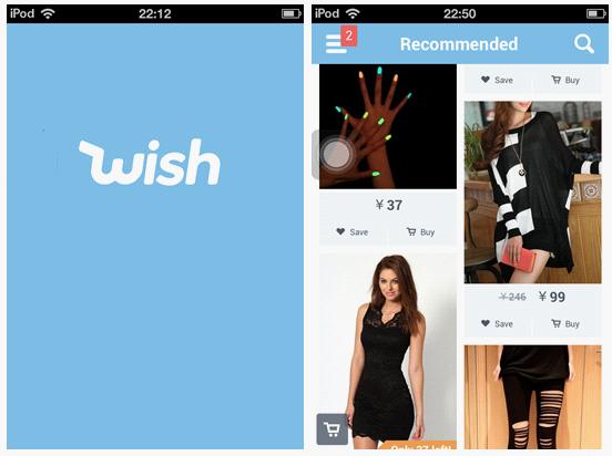 Wish:做了解用户喜好的导购应用