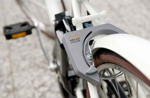 软银在日本推共享单车服务 搭载GPS智能锁具