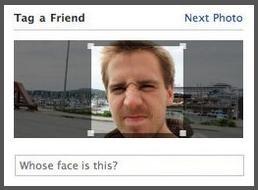Facebook测试照片人脸识别功能(图)