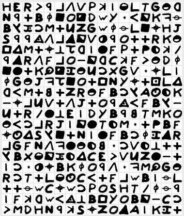 至今仍未被破译的五个世界级密码(图)
