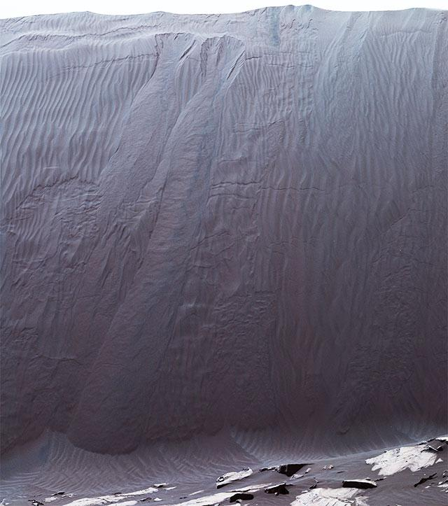 好奇号告诉你火星上的沙丘长啥样