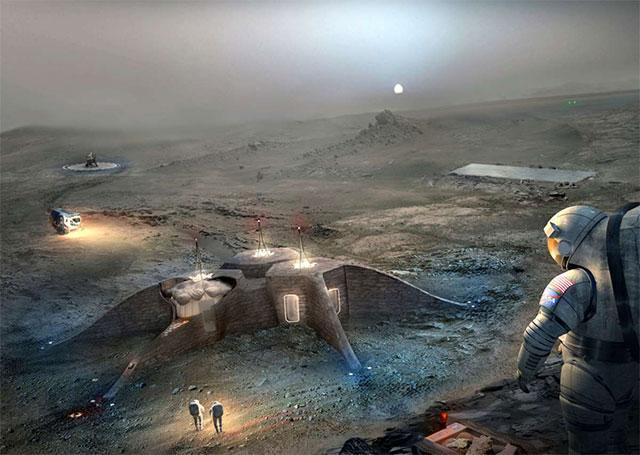 3D打印建造火星基地?NASA举办比赛征集创意