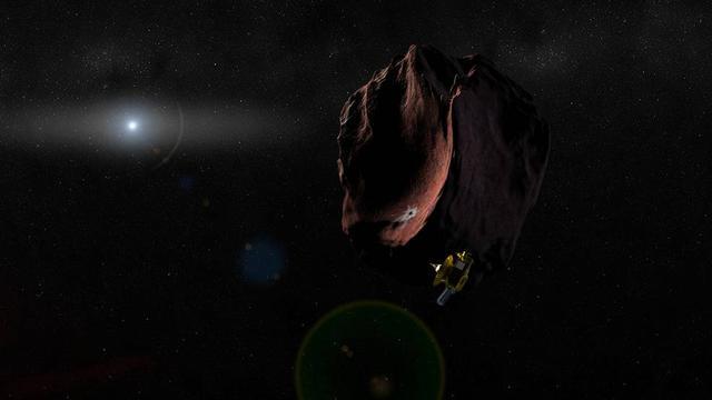 """离开冥王星 """"新视野""""号探测器前往下一个目标"""