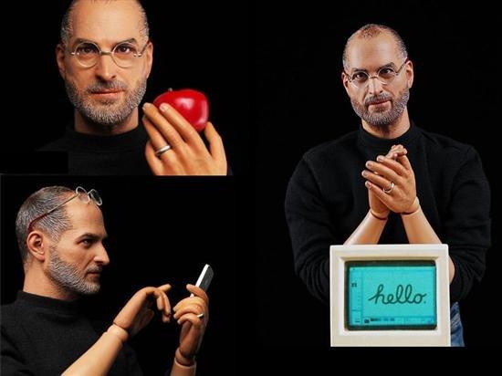 乔布斯玩偶中国造 苹果或叫停