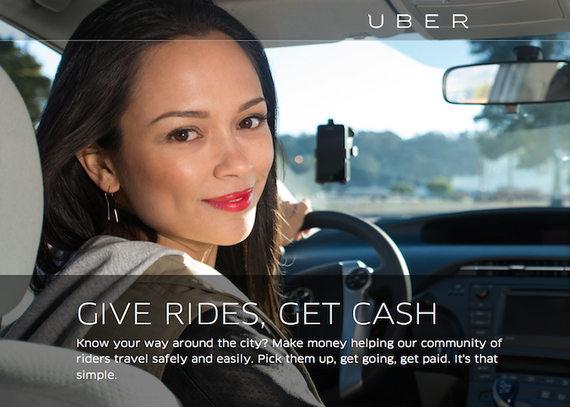 Uber让越来越多的女性当上了出租车司机