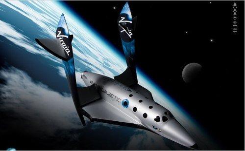 全球首艘商业太空船在美国单独试飞成功(图)