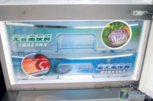 松下三开门冰箱现7099元 双重光照保鲜