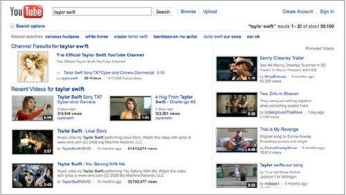 YouTube推出七项更新:更新搜索结果页面
