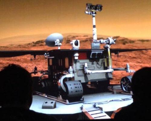 """中国火星探测正立项 拟同时实现""""绕落巡"""""""