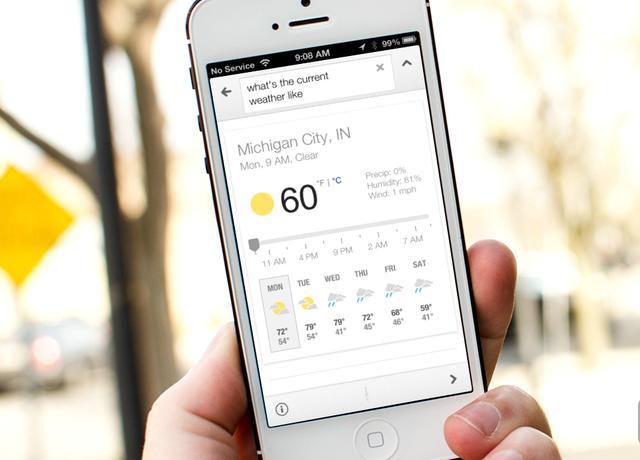 谷歌推出iOS版本地新闻和天气应用