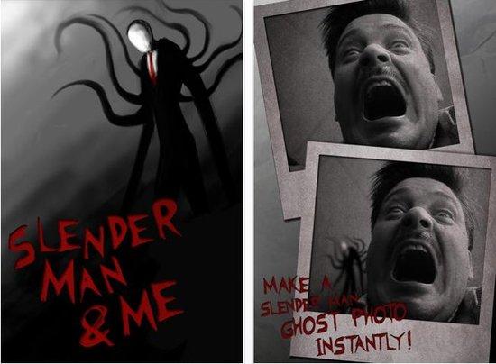 搞怪应用Slender Man & Me:就是想吓吓你