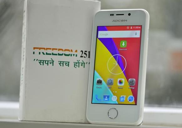 印度智能手机Freedom 251下周发货 价格仅相当于一杯咖啡