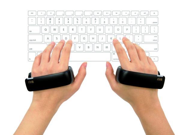 """三星展示""""掌环""""形状虚拟现实控制器"""