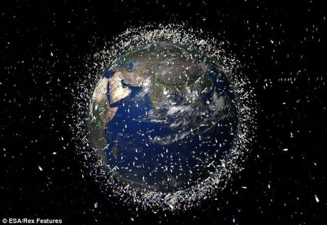 37万块太空垃圾高速漂浮 潜在威胁航天器发射