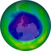 日科学家称南极臭氧层空洞2050年消失