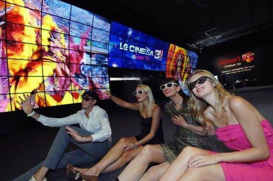 """84英寸Ultra HD 3D电视 :LG的""""实力派""""宣言"""