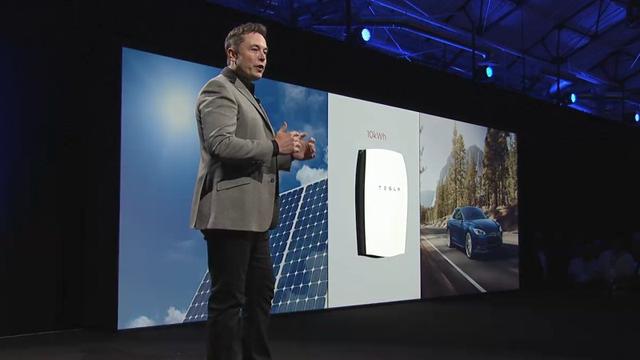 特斯拉家用电池Powerwall发布