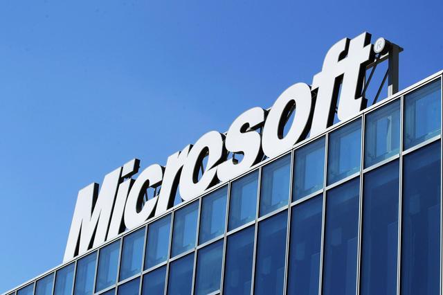 微软市值升至全球第二 仅次于竞争对手苹果