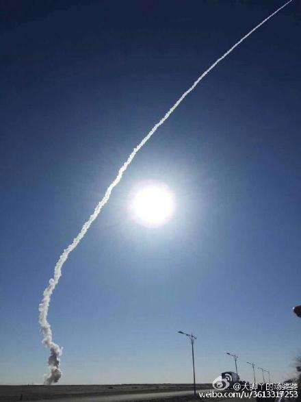 9时41分 长征十一号搭载四颗卫星成功首飞