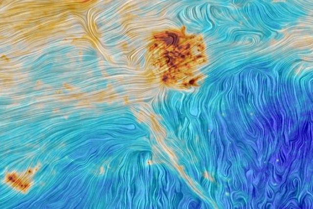 欧空局发布麦哲伦星云图像:酷似梵高大作