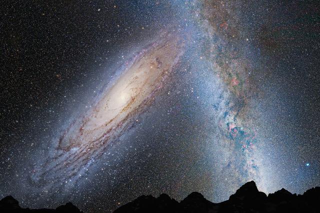 宇宙中的惨案:小星系被大星系无情吞掉
