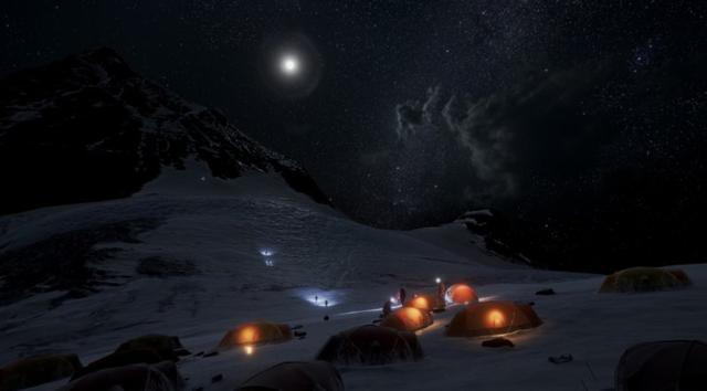 在VR里攀登珠峰:除了不冷,其他都跟真的一样