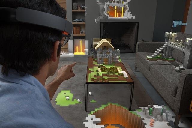 微软HoloLens如何完胜谷歌眼镜?