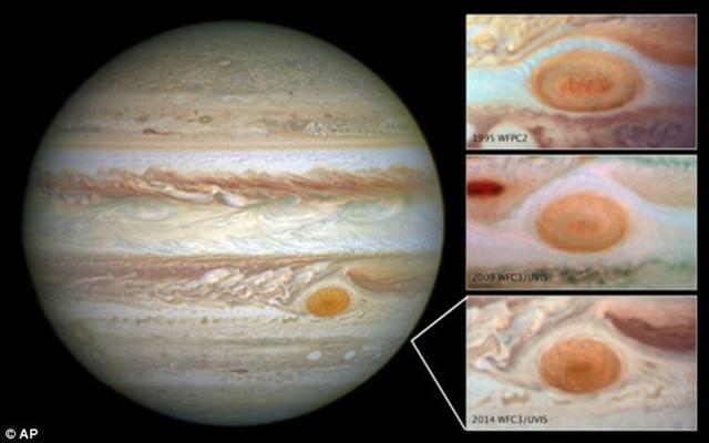 NASA发现太阳系最大风暴萎缩:已持续数百年