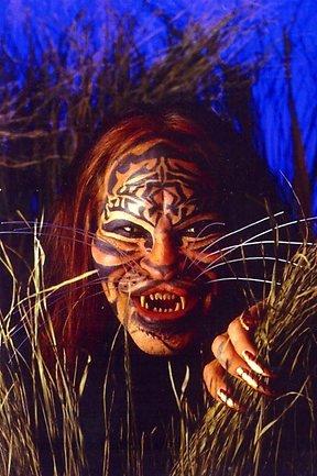 """美国""""虎人""""去世 生前将自己整容成母老虎"""