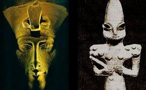 古埃及法老是外星人后裔?